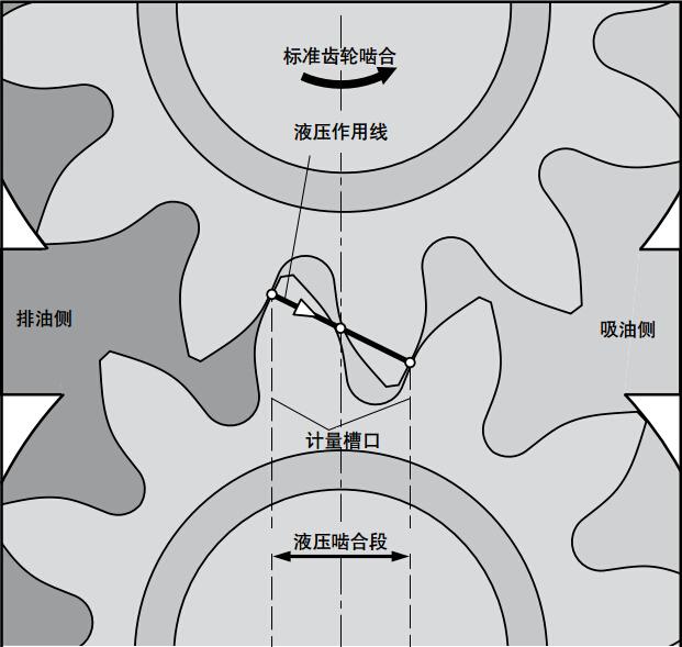 力士乐AZPU系列齿轮泵标准排量方法